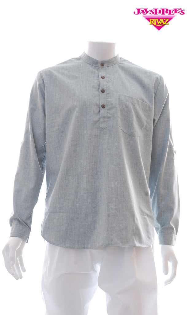 Grey Kurta Top