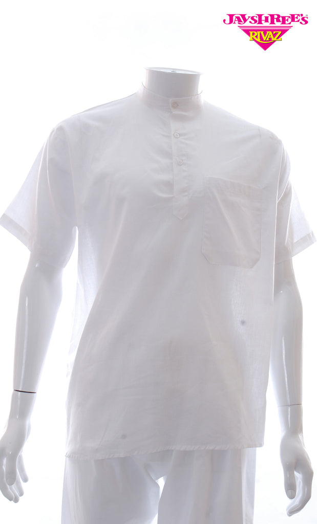 White Kurta Top