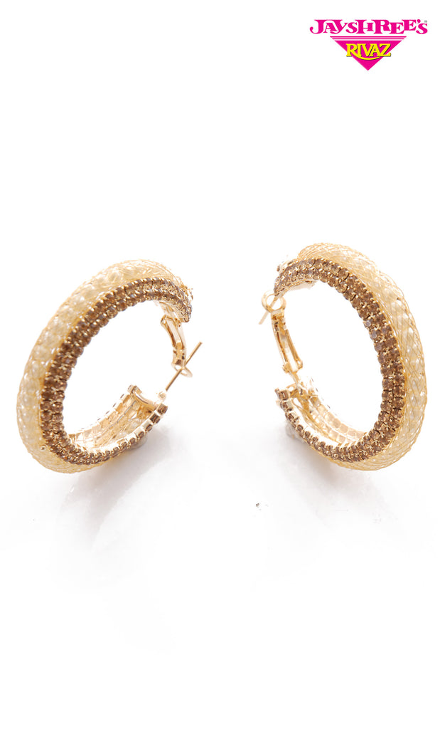 Bronze Big Hoop Earrings