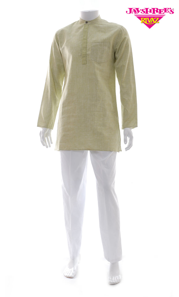 Avo Green Kurta Top