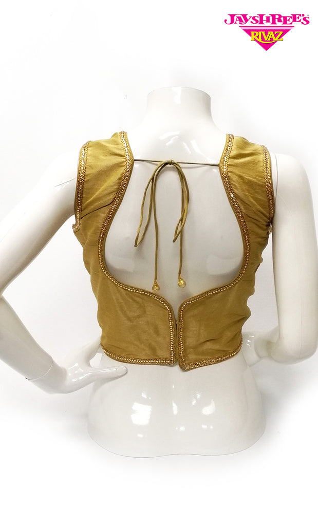 Gold Stone Work Blouse