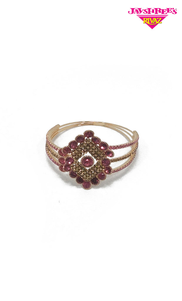 Rose Pink Diamante Kada