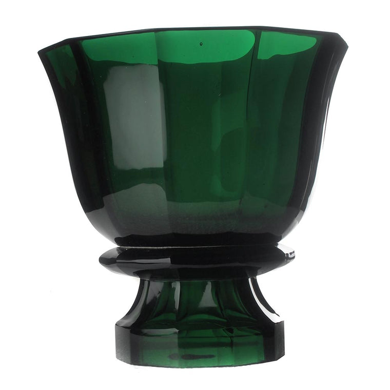 Emerald Molten Glass