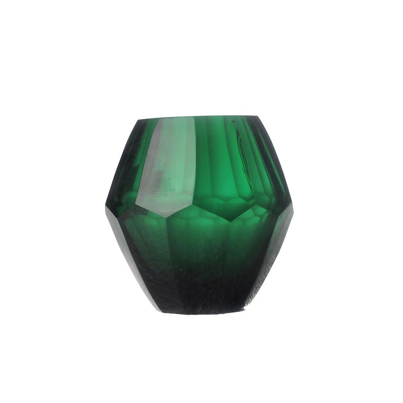 Emerald Diamond Vase