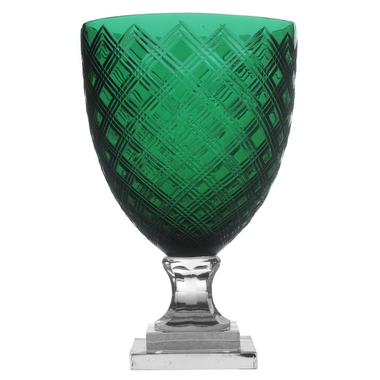 Emerald Candle Holder