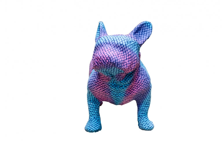 Blue & Purple Bulldog