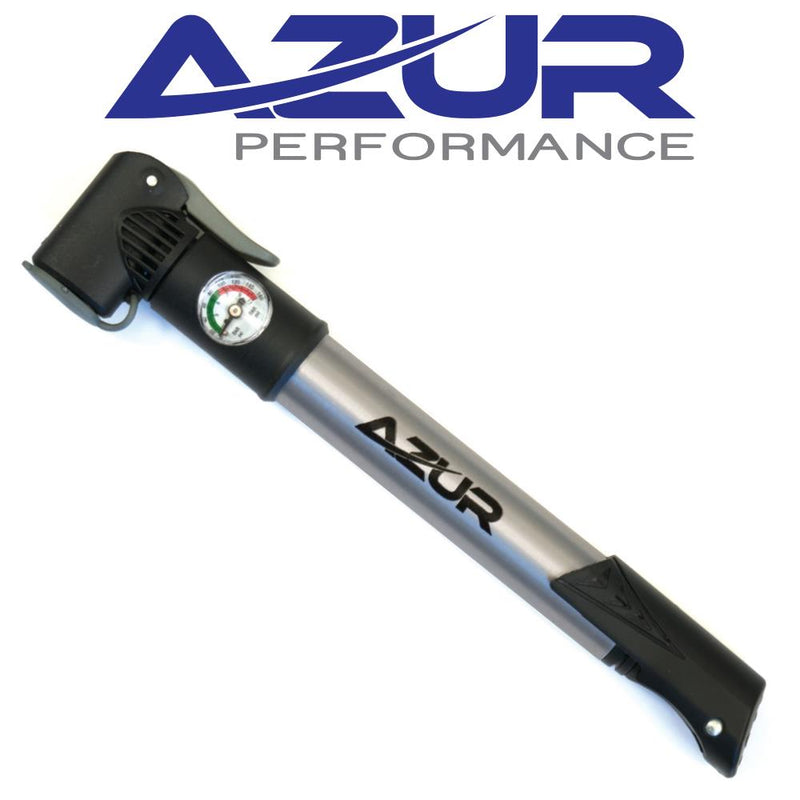Azur Mini Pump Dual Head with Gauge AMPDHWG