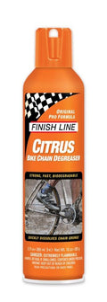 Finish Line Citrus Chain Degreaser 12oz Aerosol