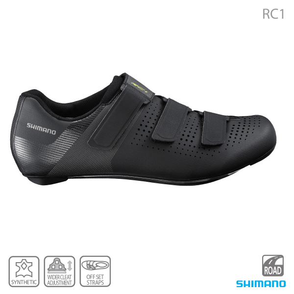 Shimano RC1 SH-RC100 Road Cycling Shoe Black