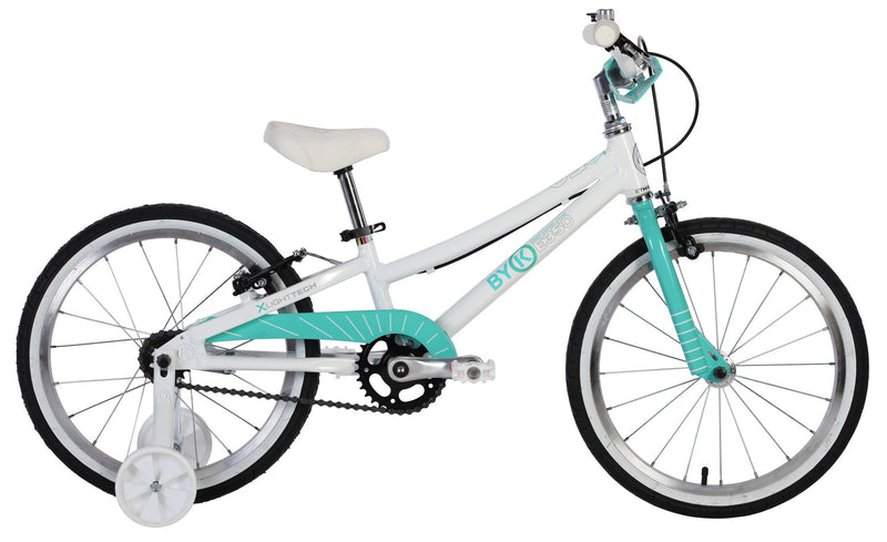 ByK E-350 Kids Bike (Celeste Green)
