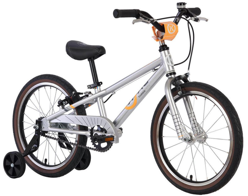 ByK E-350 Kids Bike Polished Alloy