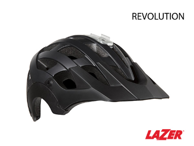 Lazer Revolution MTB Bike Helmet Matte Black Medium