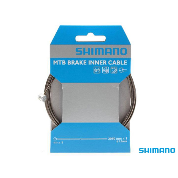 Shimano Brake MTB/Hybrid Inner Cable, Stainless. Packaged