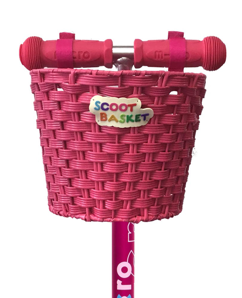 Basket Scoot Basket Pink