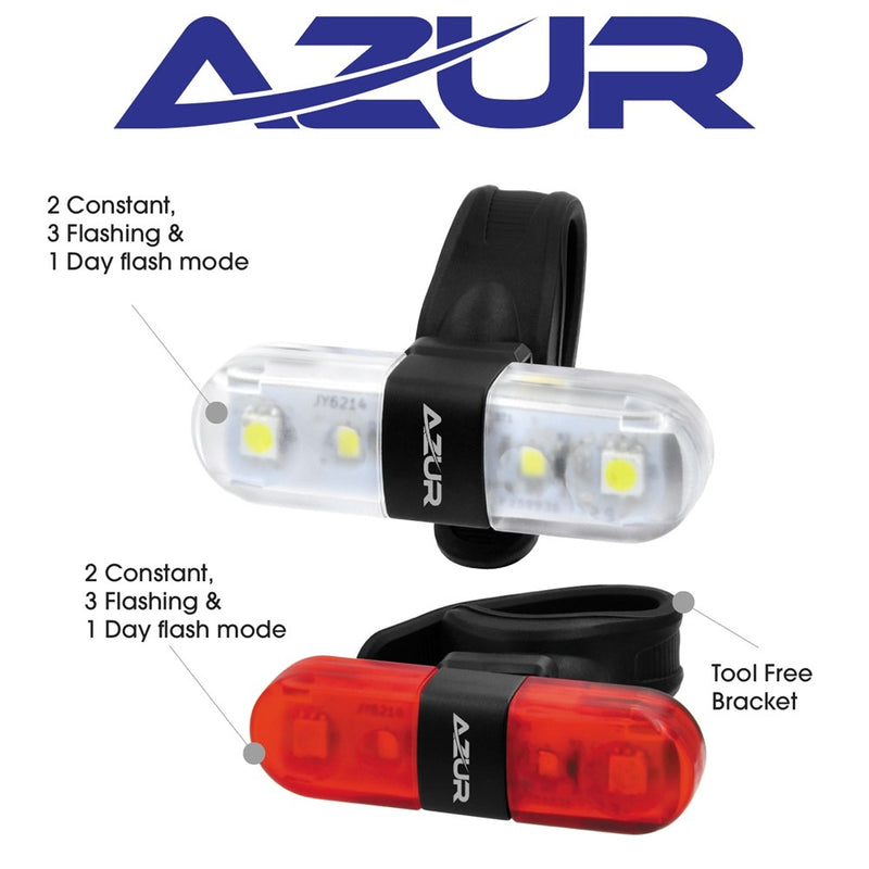 Azur Nano USB Light Set HL 60 Lumens/ TL 30 Lumens