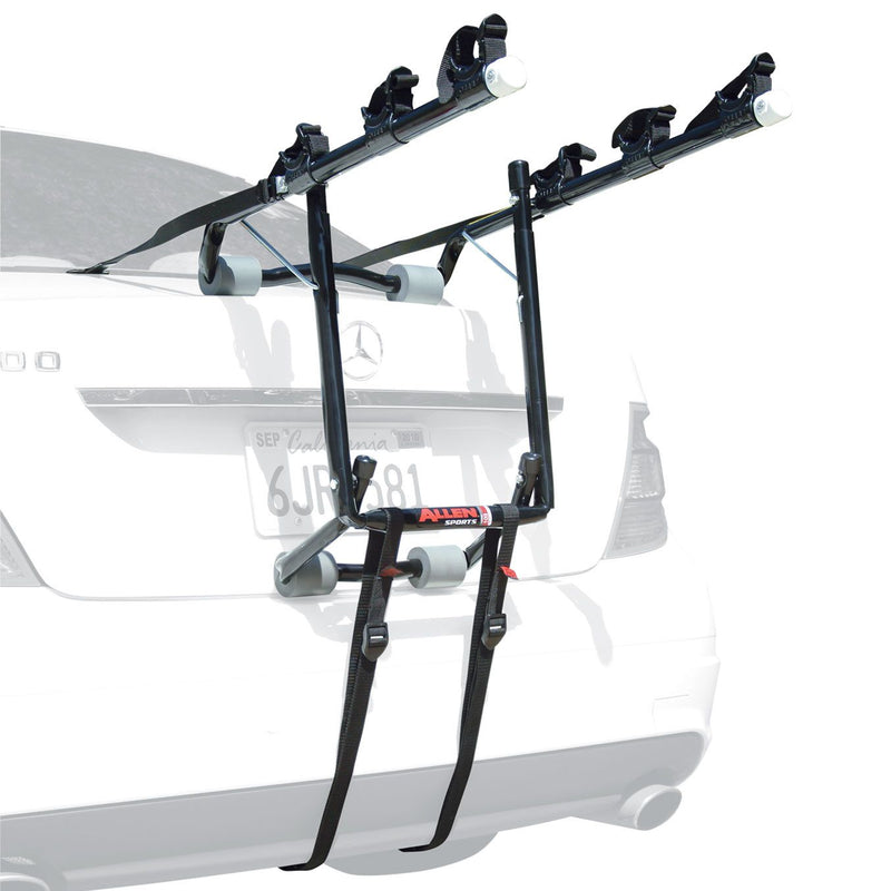 Allen Deluxe 3 Three Bike Trunk Mounted Carrier Car Rack