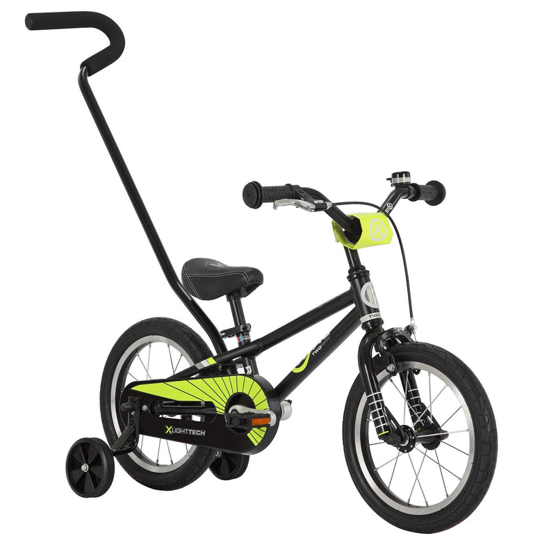 ByK E-250 Kids Bike (Black Midnight/Neon Yellow)