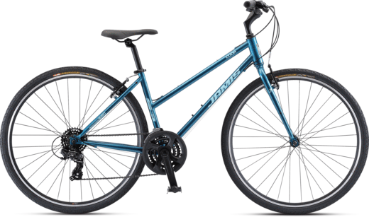 Jamis Coda S3 Step-Over Flat Bar Road Bike Ano Deep Blue 2021