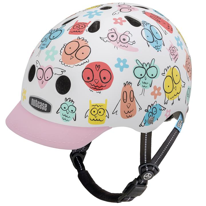 Nutcase Little Nutty Cycling Helmet Owl Party XS