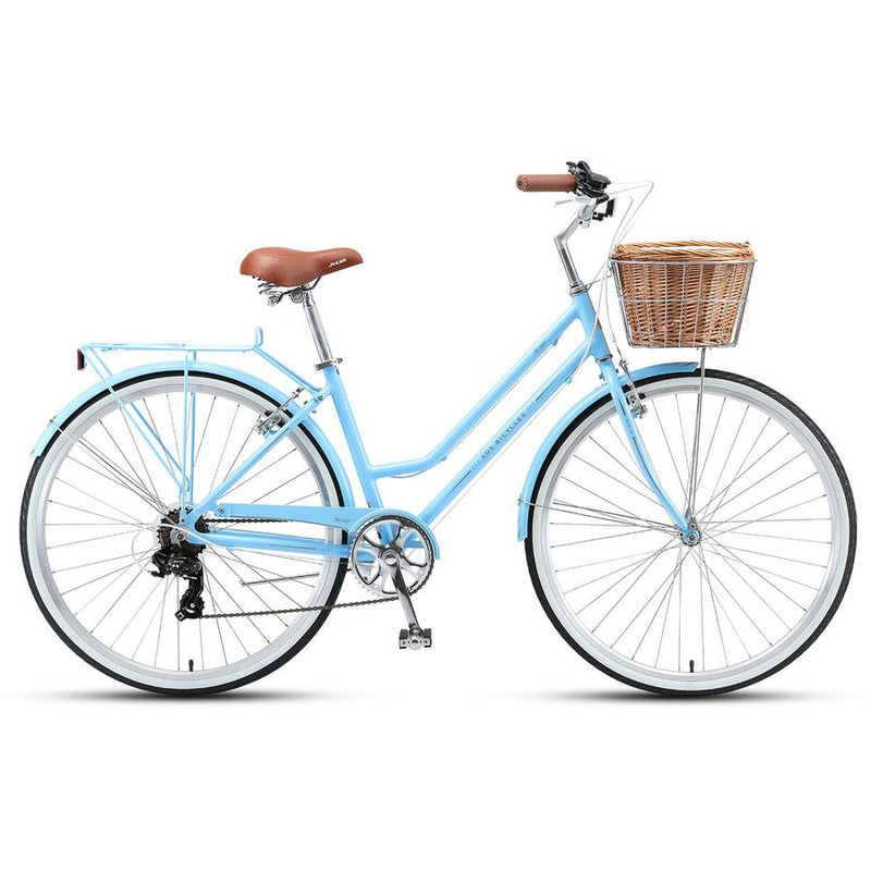 XDS Marilyn Retro Ladies Bike 7 Speed Pale Blue