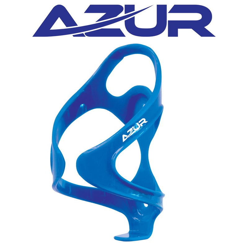 Azur Force Bidon Bottle Cage Blue