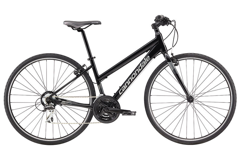 Cannondale Quick 8 Women's Flat Bar Road Bike Black Small 2017