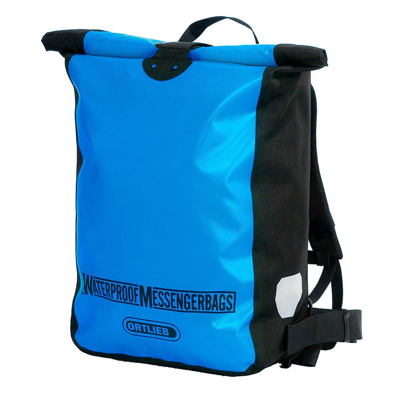 Ortlieb Waterproof Messenger Bike Bag Back Pack 39L Ocean Blue Black F2307