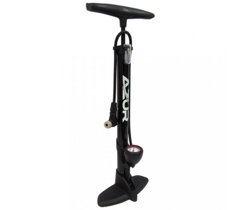 Azur Foot / Floor Pump Black