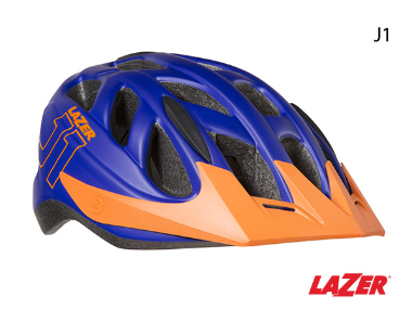 Lazer J1 Kids Helmet Unisize Blue Orange