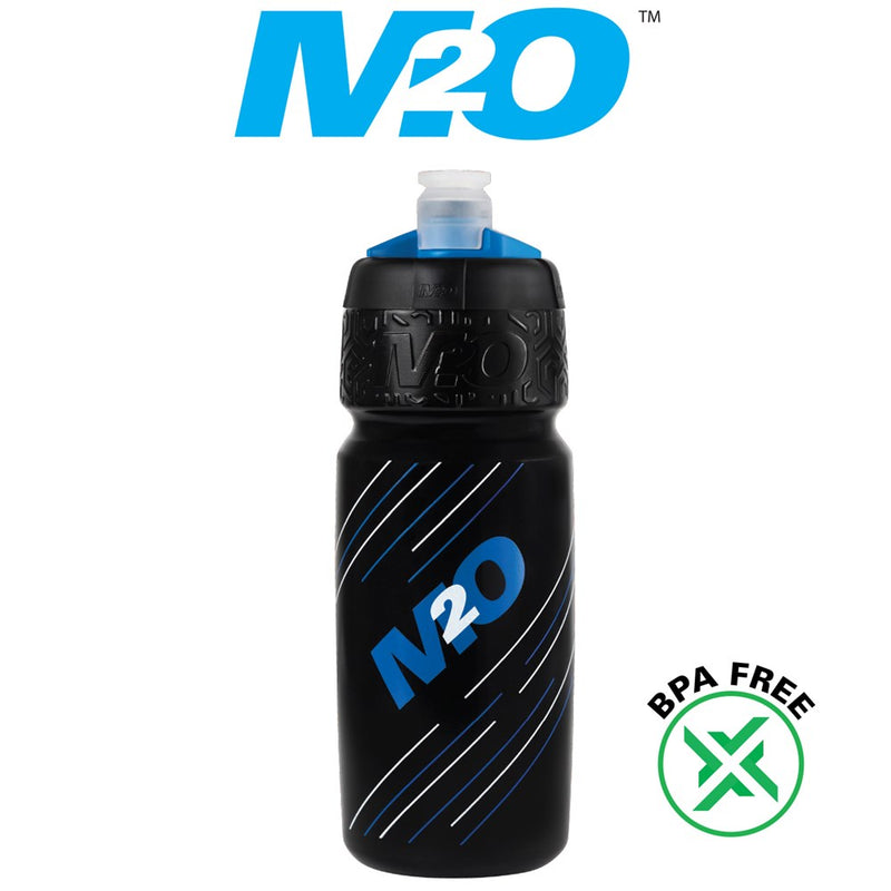 M2O Pilot Water Bottle 710ml Black/Blue