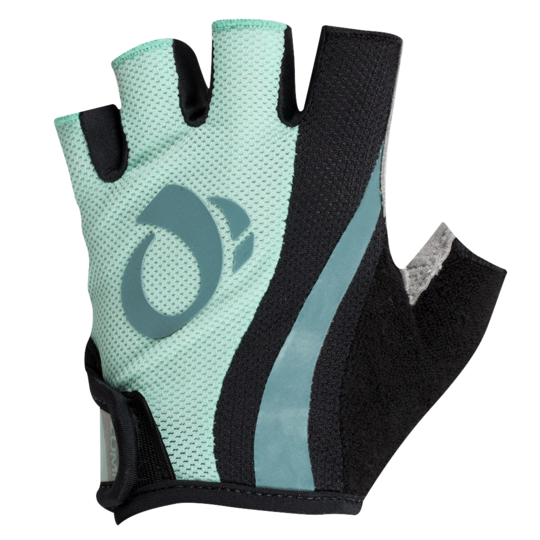 Pearl Izumi Womens Select Short Finger Gloves Mist Green / Arctic