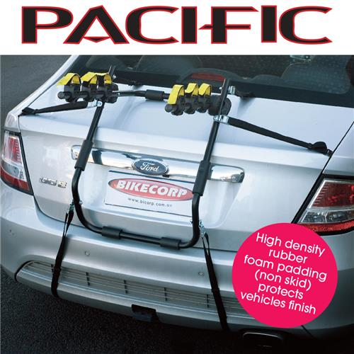 Pacific Rear Mount 3 Bike Car Rack