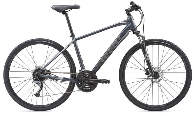 Giant Roam 2 Disc Brake Hybrid Bike Effect Black 2019