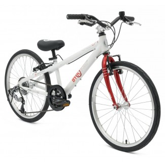 ByK E-450x8 Geared Kids Bike (Bright Red)