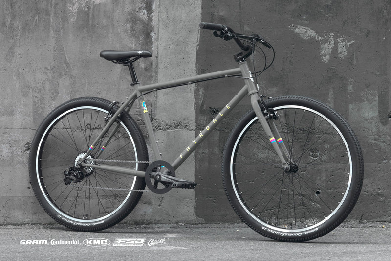 Fairdale Flyer Flat Bar Urban Bike Cool Grey 2021