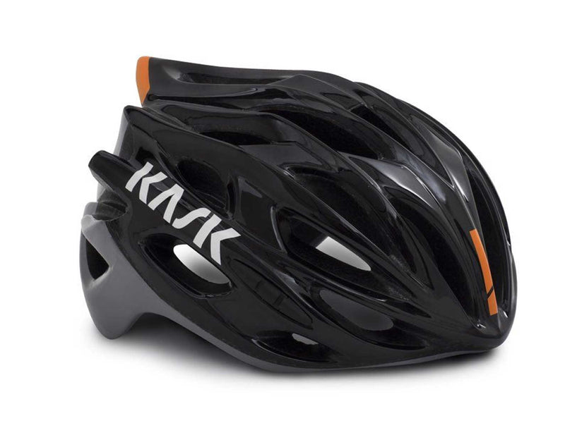 Kask Mojito X Cycling Helmet Black / Ash / Orange Fluro Medium