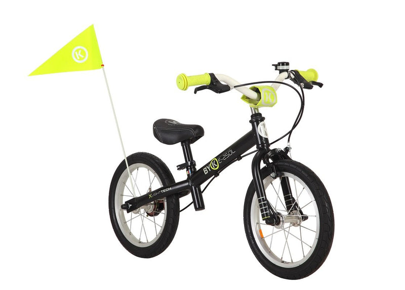 ByK E-250L Balance Bike (Black/Neon Yellow)