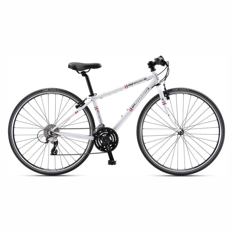 Jamis Coda Sport Femme Flat Bar Road Bike Pure White