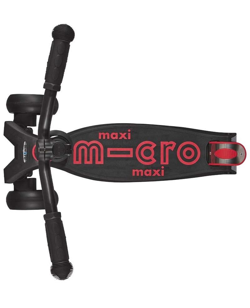 Micro Maxi Micro Deluxe Pro Scooter Black/Red