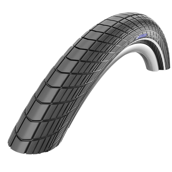 "Schwalbe Big Apple Race Guard Reflective Sidewall 20 "" x 2.0"