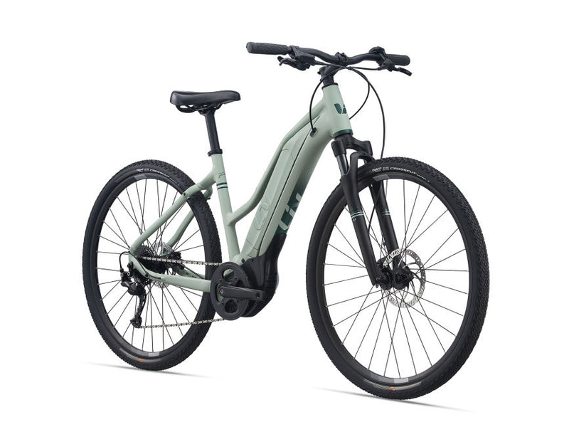 Liv Rove E+ Womens Hybrid E-Bike Laurel 2021