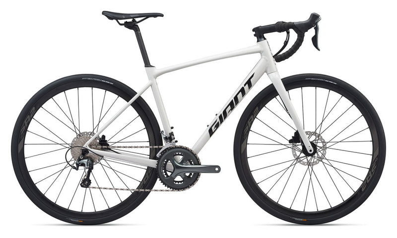 Giant Contend AR 2 Endurance Road Bike White 2020