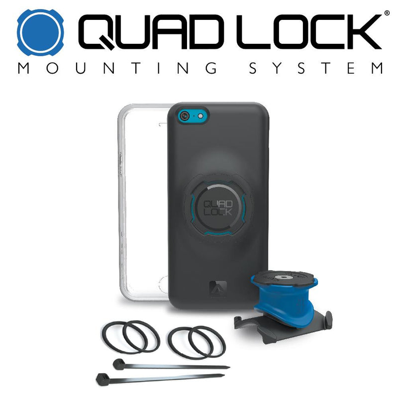 Quadlock Mounting System Bike Kit for iPhone X