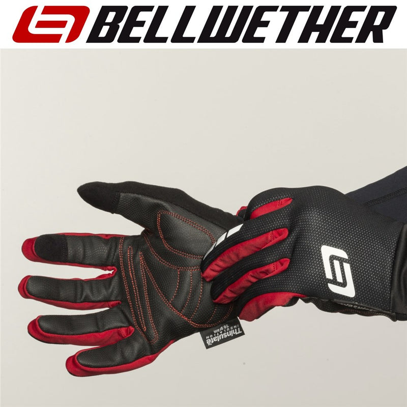 Bellwether Coldfront Insulated Cycling Gloves Black