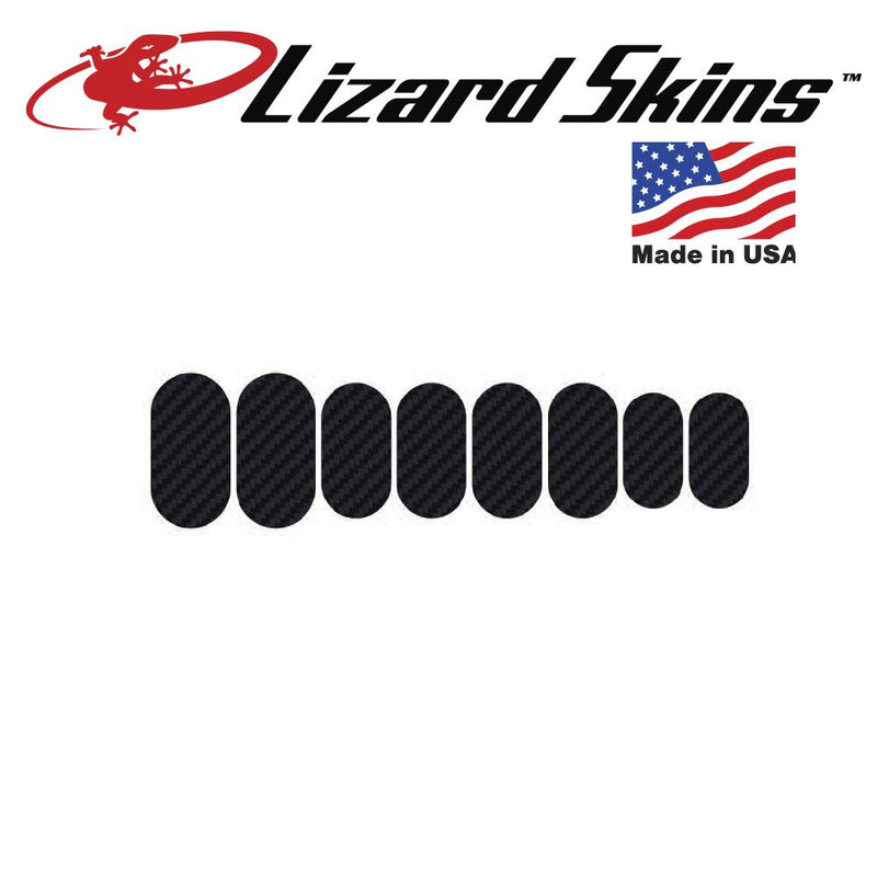 Lizard Skin Frame Protection Patch Kit - Carbon Leather Adhesive