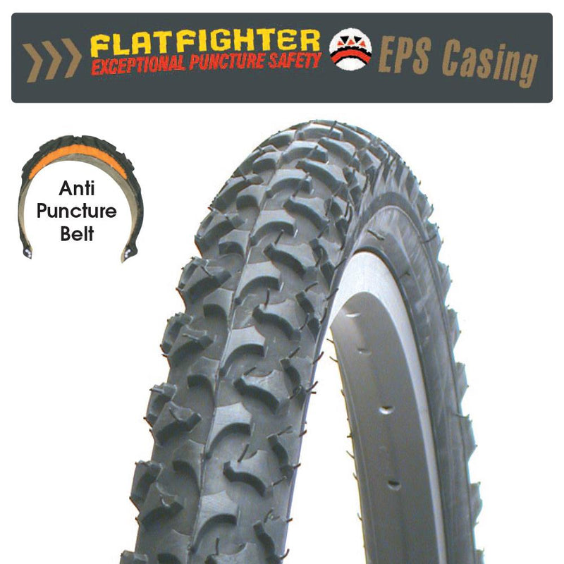 CST Flat Fighter C1040N Rigid Tyre 26x1.95