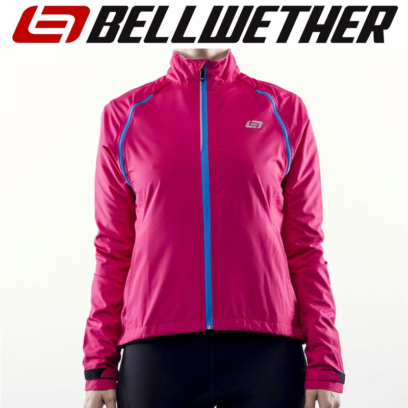Bellwether Velocity Women's Convertible Cycling Jacket/Vest Berry