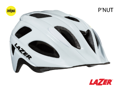 Lazer P'Nut MIPS Kids Bike Helmet White