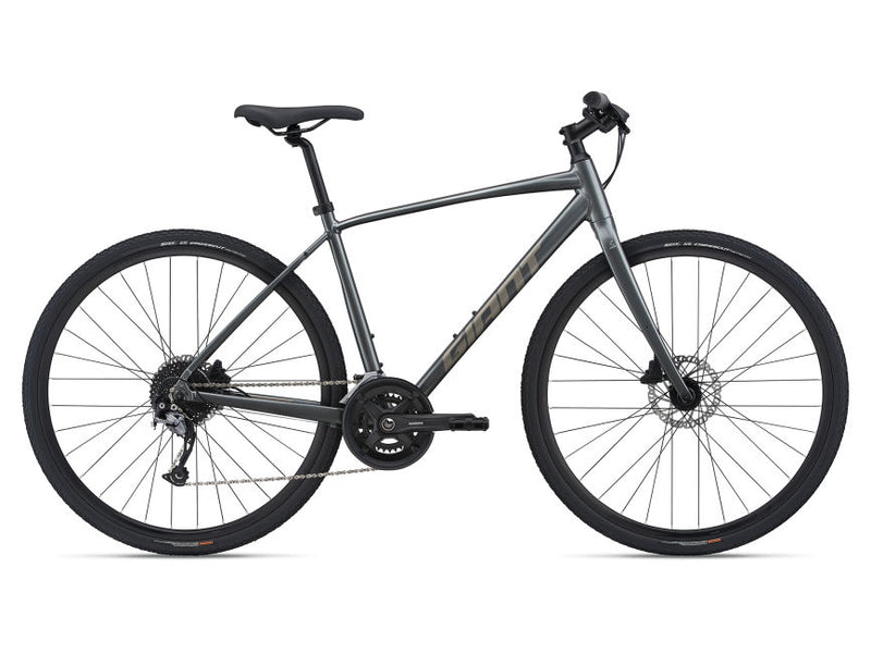Giant Cross City 1 Disc Flat bar Road Bike Charcoal 2021