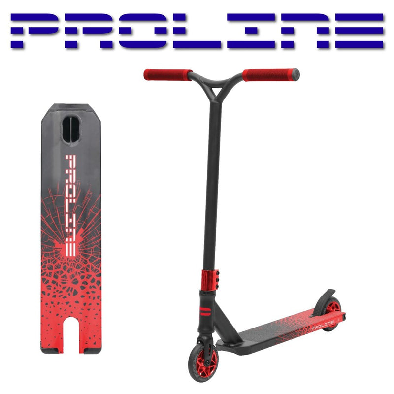 Proline L2 Series Scooter - Crack Impact Red 2021